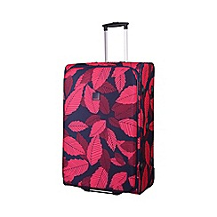 Tripp - Leaf 2-Wheel large suitcase Midnight/Cassis