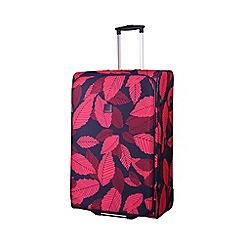 Tripp - Leaf 2-Wheel large suitcase Midnight/Cassis
