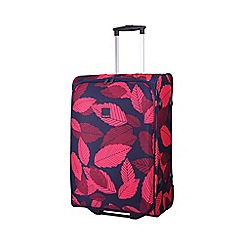 Tripp - Leaf 2-Wheel Medium suitcase Midnight/Cassis