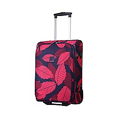 Tripp - Leaf 2-Wheel Cabin suitcase Midnight/Cassis