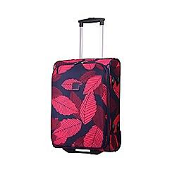 Tripp - Leaf 2-Wheel Cabin suitcase Midnight/Cassis