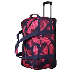 Tripp - Leaf Large Wheel Duffle Midnight/Cassis