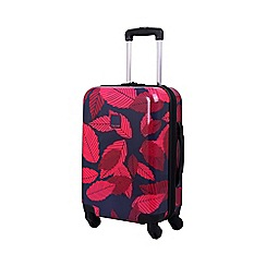 Tripp - Leaf Hard 4-Wheel Cabin Suitcase Midnight/Cassis