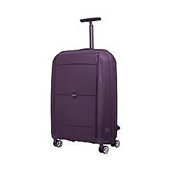 Tripp - Plum 'Superlock' 4 wheel medium suitcase