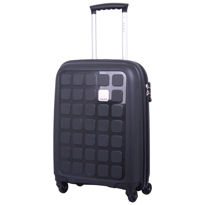 Tripp Black II Holiday 5 cabin 4 wheel suitcase