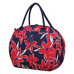 Tripp - Flower Belle Holdall Navy/Red