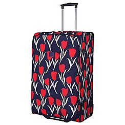 Tripp - Tulip Large 2-Wheel suitcase Navy/Red