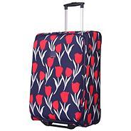 Tulip Medium 2-Wheel suitcase Navy/Red