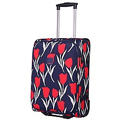 Tripp - Tulip Cabin 2-Wheel Suitcase Navy/Red