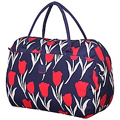 Tripp - Tulip Large Holdall Navy/Red