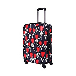 Tripp - Tulip Hard 4-Wheel Medium Suitcase Navy /Red