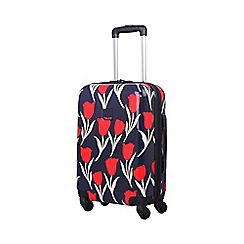 Tripp - Tulip Hard 4-Wheel Cabin Suitcase Navy /Red