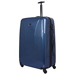 Tripp - Ocean blue 'Chic' 4 wheel large suitcase
