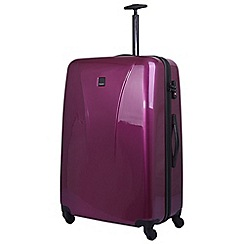 Tripp - Chic Large 4-Wheel Suitcase Mulberry