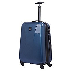 Tripp - Ocean blue 'Chic' 4 wheel cabin suitcase