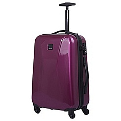 Tripp - Chic Cabin 4-Wheel Suitcase Mulberry