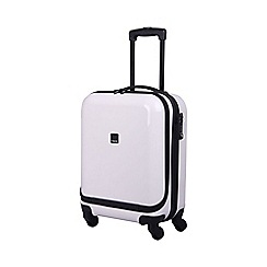 Tripp - Chic 4-Wheel Dual Acess Cabin Case White Gloss
