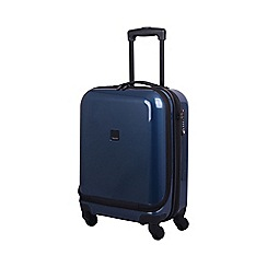 Tripp - Chic 4-Wheel Dual Acess Cabin Case Ocean Blue