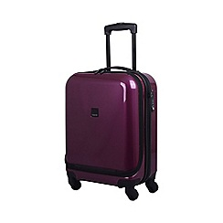 Tripp - Chic 4-Wheel Dual Acess Cabin Suitcase Mulberry