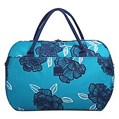 Tripp - Navy 'Bloom' Large Holdall