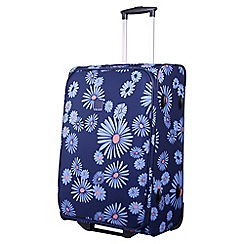 Tripp - 'Daisy' navy 2-wheel  medium suitcase
