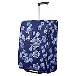 Tripp - 'Daisy' navy 2-wheel  medium suitcase
