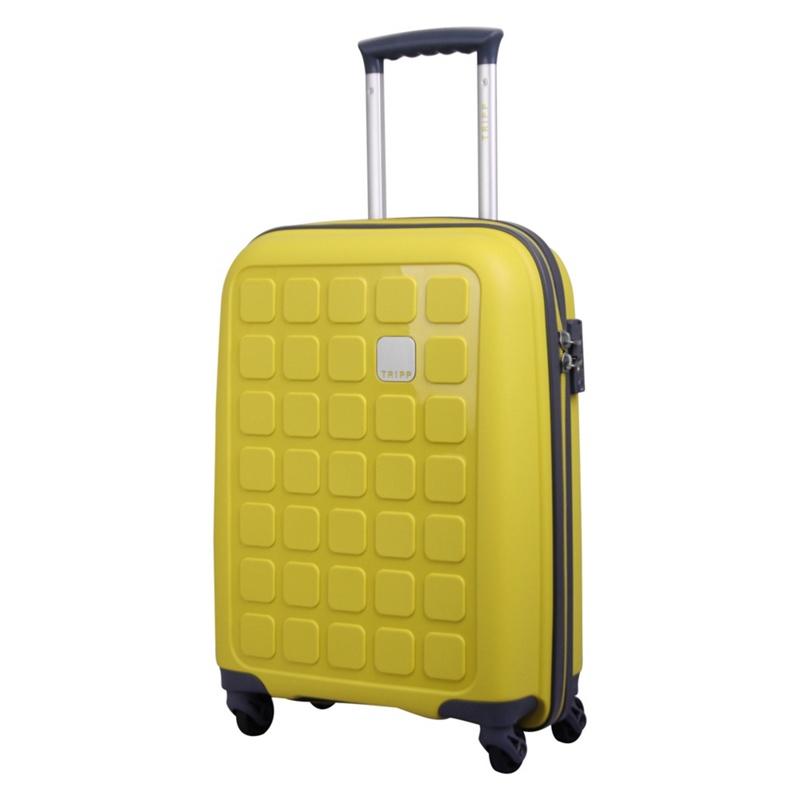 Tripp Holiday 5 Cabin 4-Wheel Suitcase Citron II, Yellow