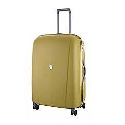 Tripp - Chartreuse 'Ultimate Lite II' medium 4-wheel suitcase