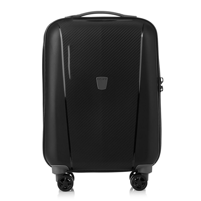 Tripp Black Ultimate Lite II cabin 4-wheel Suitcase