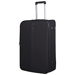Tripp - Black 'Superlite III' 2 wheel large suitcase