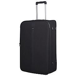 Tripp - Black 'Superlite III' 2 wheel large suitcase