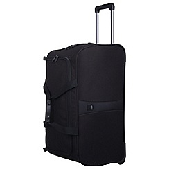 Tripp - Black 'Superlite III' large wheel duffle