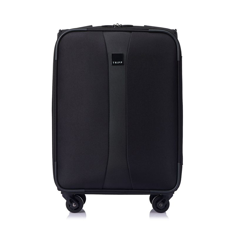 Tripp - Black Superlite 4W 4 Wheel Cabin Suitcase