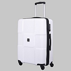 Tripp - World II White 4-Wheel Medium Suitcase