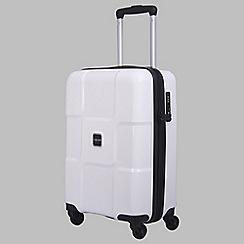 Tripp - White II 'World' Cabin 4-wheel suitcase