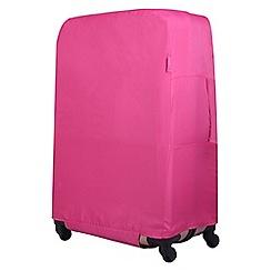 Tripp - Magenta 'Accessories' Large suitcase cover