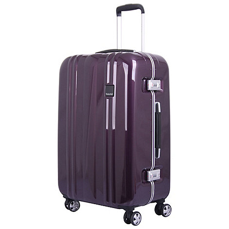 tripp amethyst 39 absolute lite ii 39 medium 4 wheel case. Black Bedroom Furniture Sets. Home Design Ideas