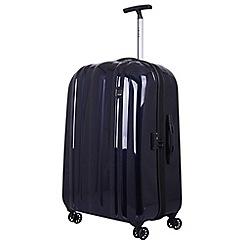 Tripp - Ink blue 'Absolute Lite zip' 4 wheel large suitcase