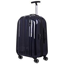 Tripp - Ink blue 'Absolute Lite zip' 4 wheel medium suitcase