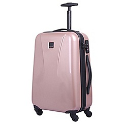 Tripp - Blush 'Chic' cabin 4-wheel Suitcase