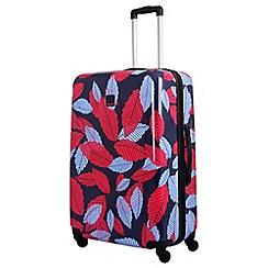 Tripp - Blue 'Leaf Hard ' large 4 wheel suitcase