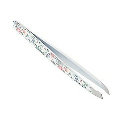 The Vintage Cosmetic Company - 'Floral' slanted tweezers