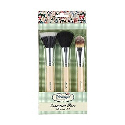 The Vintage Cosmetic Company - 'Essential' make-up brush set