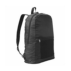 Craghoppers - Black 3 in 1 packaway rucksack