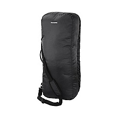 Craghoppers - Black 2 in 1 holdall & raincover