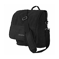 Craghoppers - Black lifestyle travel convertible shoulder bag