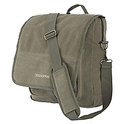 Craghoppers - Dark khaki lifestyle travel convertible shoulder bag