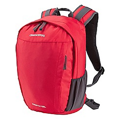 Craghoppers - Red kiwi pro backpack 15l