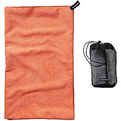 Craghoppers - Orange microfibre extra large towel