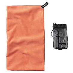 Craghoppers - Orange microfibre large towel